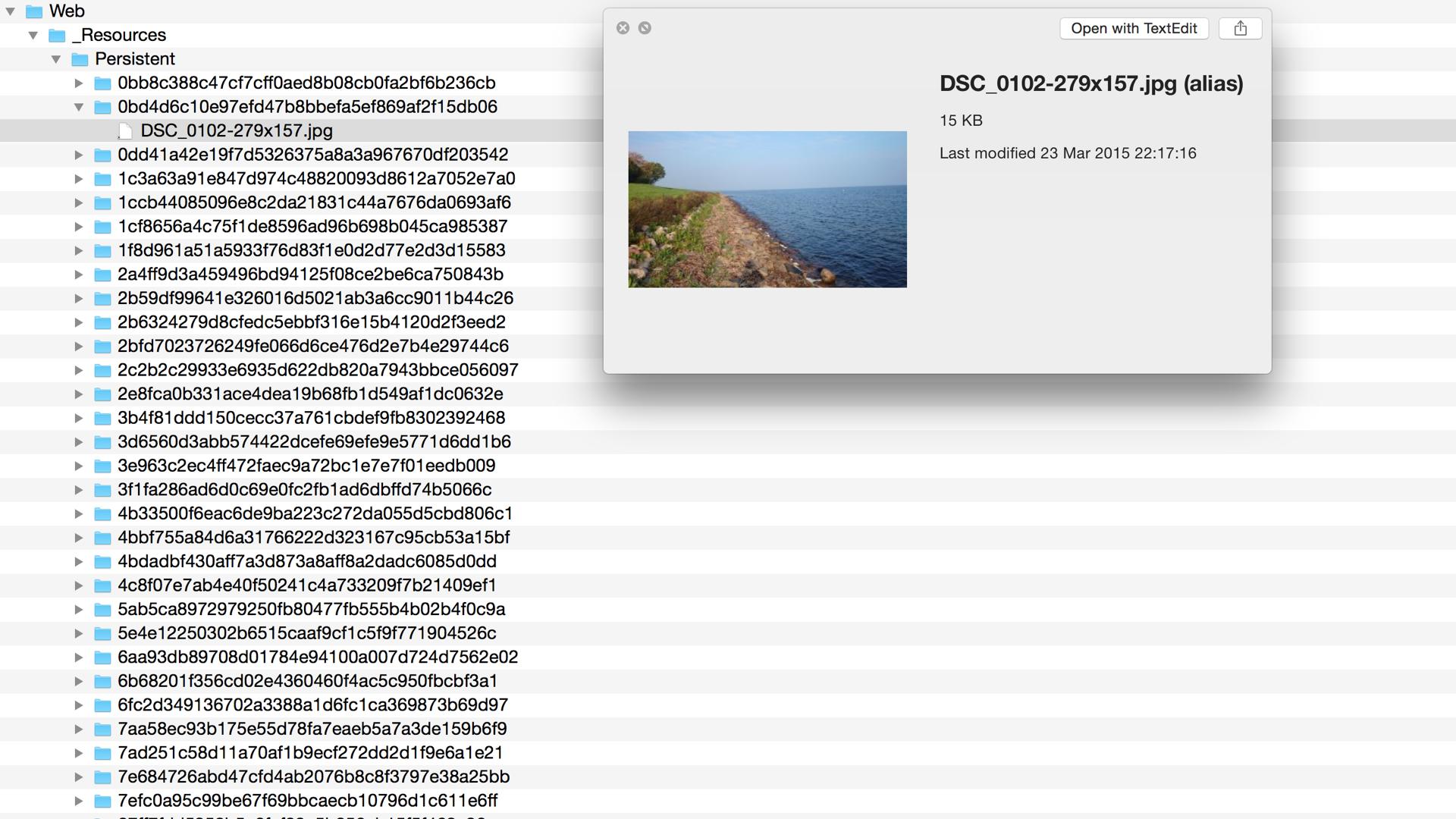 Publishing Target screenshot