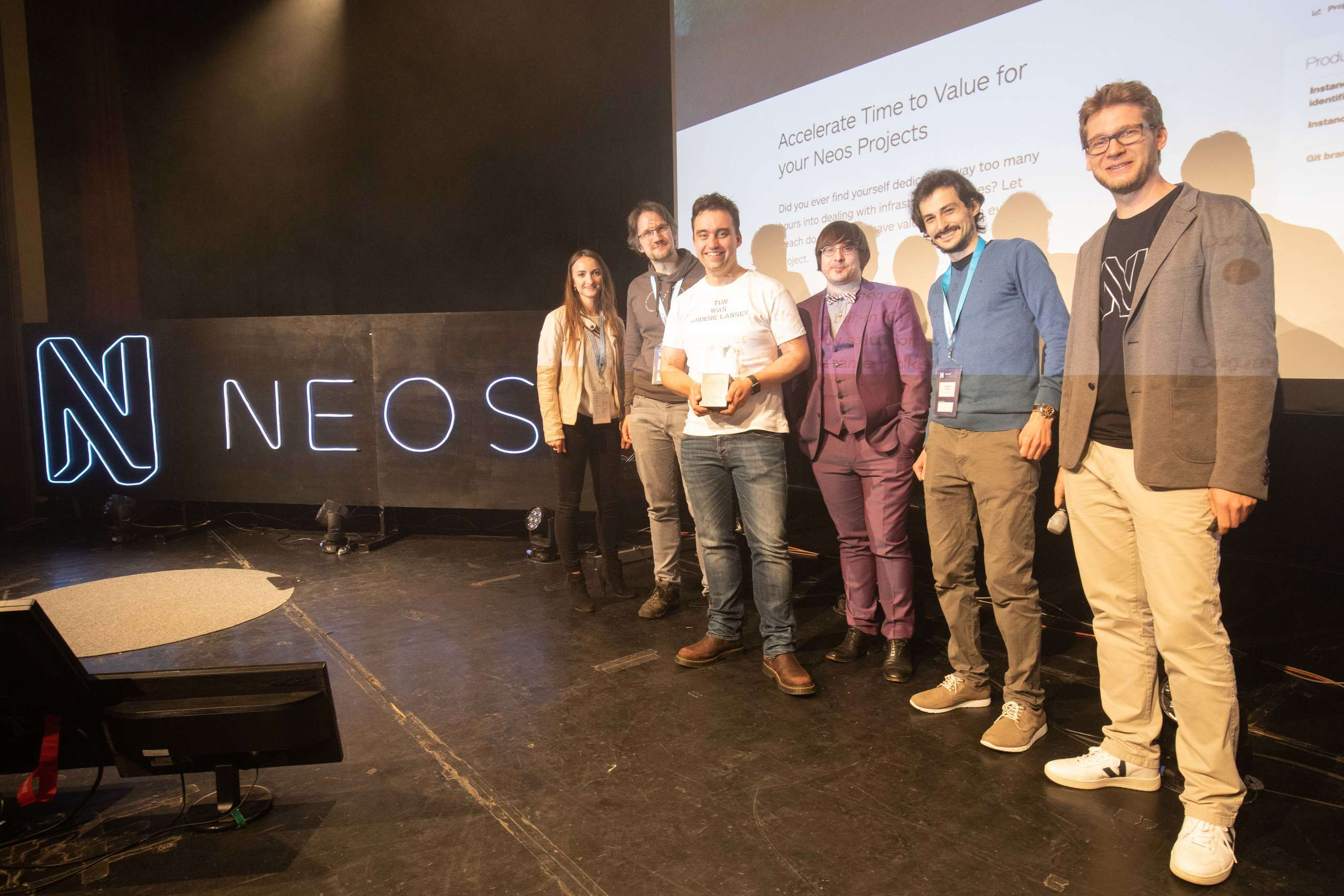 Neos Award 2019 for Flownative Beach