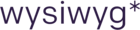 wysiwyg* software design Logo